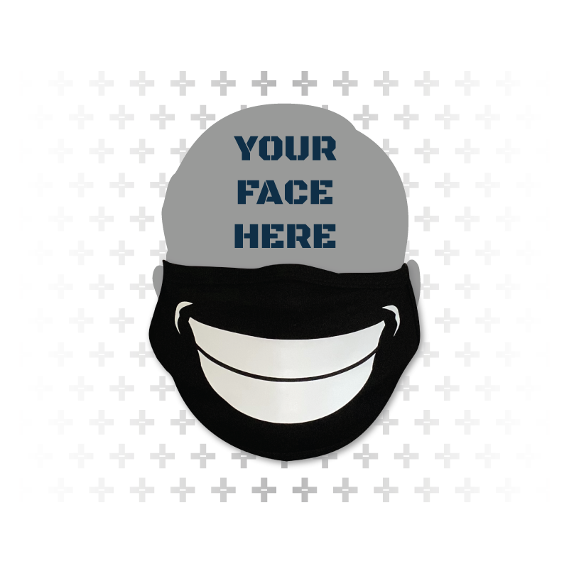 Perma-Grin Face Mask - Army of Happy - The Optimistic Lifestyle Brand