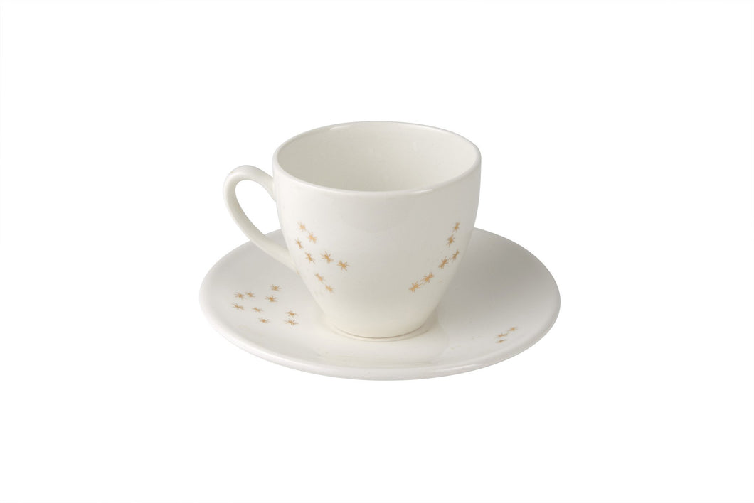 Golden Ants Tea Cup & Saucer