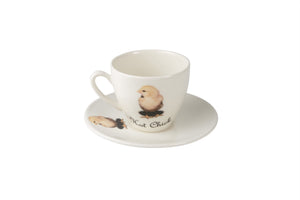 Hot Chick Tea Cup & Saucer