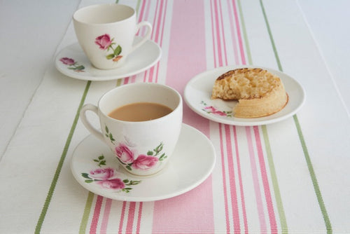 Custom made Personalised Tea Cup and Saucer