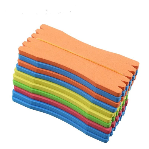 10Pcs Foam Fish Winding Storage Boards