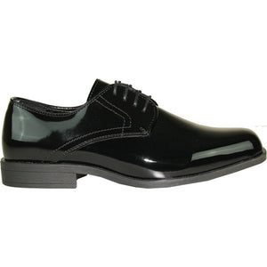 Isaac - Black Patent Formal Dress Shoes-The Shoe Square
