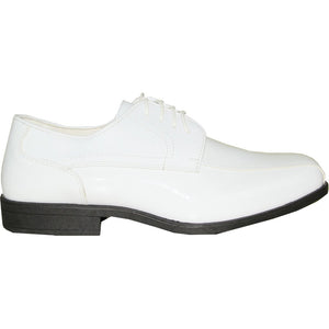 Felix - White Patent Formal Dress Shoes-The Shoe Square
