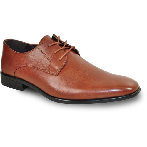 Viggo - Brown Oxford Dress Shoes-The Shoe Square