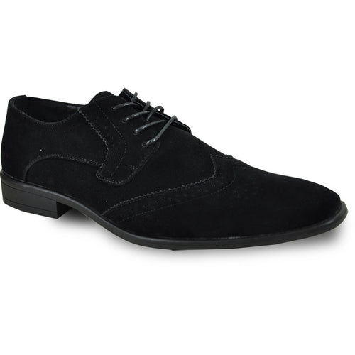Leo - Black Wingtip Oxford Dress Shoes-The Shoe Square