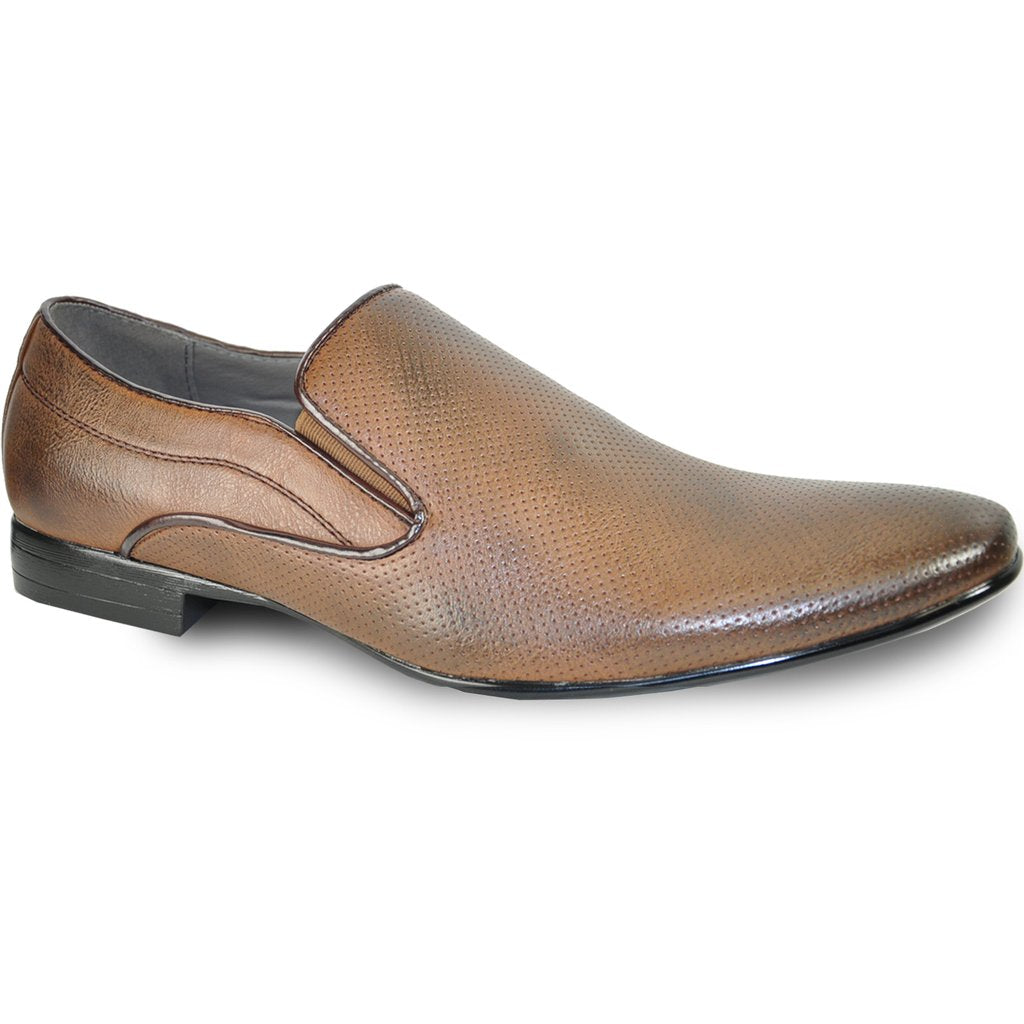 Lars - Brown Dress Loafers-The Shoe Square