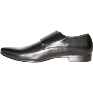 Evert - Black Dress Loafers-The Shoe Square