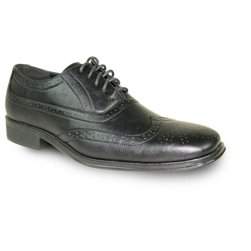Noah - Black Wingtip Oxford Dress Shoes-The Shoe Square
