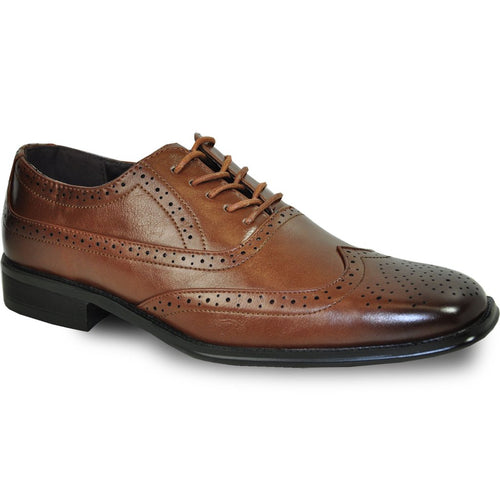 Noah - Brown Wingtip Oxford Dress Shoes-The Shoe Square