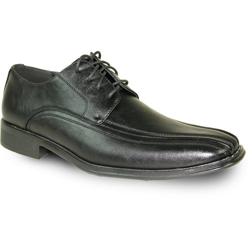 Alfred - Black Oxford Dress Shoes-The Shoe Square
