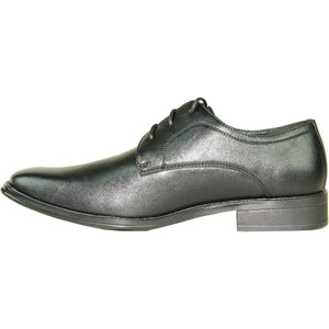 Abbey - Black Oxford Dress Shoes-The Shoe Square