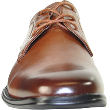 Load image into Gallery viewer, Abbey - Brown Oxford Dress Shoes-The Shoe Square