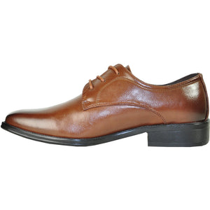 Abbey - Brown Oxford Dress Shoes-The Shoe Square