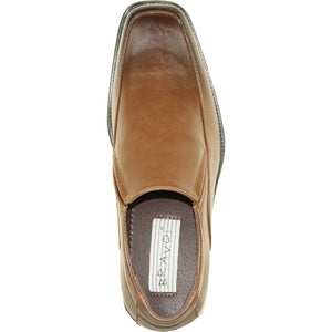 Archer - Brown Dress Loafers-The Shoe Square
