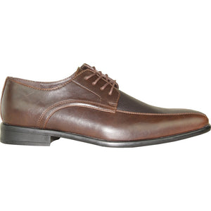 Hannes - Brown Matte Oxford Dress Shoes-The Shoe Square