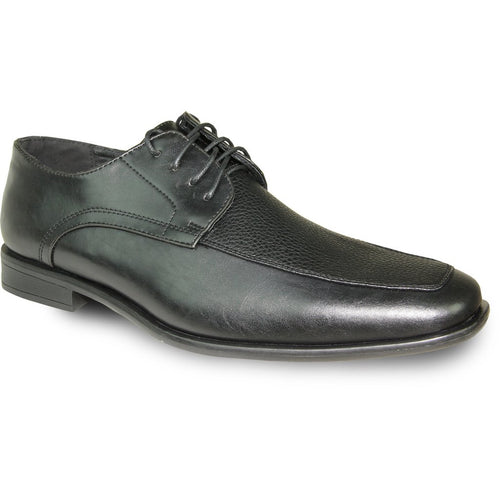 Andre - Black Matte Oxford Dress Shoes-The Shoe Square