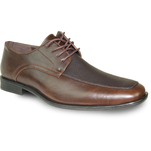 Andre - Brown Matte Oxford Dress Shoes-The Shoe Square