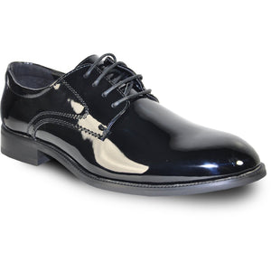 Kingston - Black Patent Formal Dress Shoes-The Shoe Square