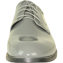 Load image into Gallery viewer, Kingston - Grey Patent Formal Dress Shoes-The Shoe Square