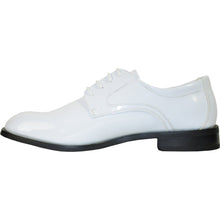 Load image into Gallery viewer, Kingston - White Patent Formal Dress Shoes-The Shoe Square