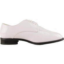 Load image into Gallery viewer, Foster - White Patent Formal Dress Shoes-The Shoe Square