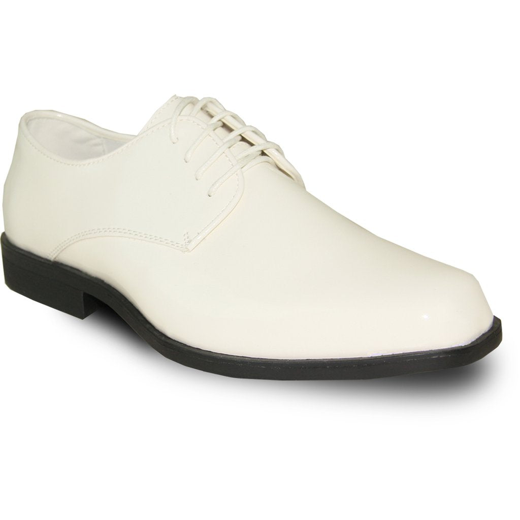 Venice - Ivory Patent Formal Dress Shoes-The Shoe Square