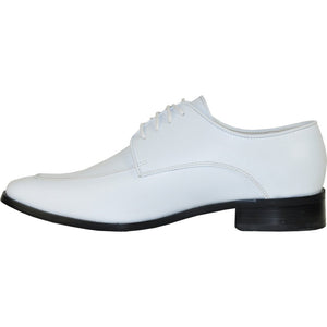 Milan - White Matte Formal Dress Shoes-The Shoe Square
