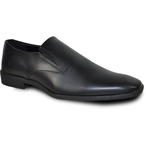 Florence - Black Matte Formal Loafers-The Shoe Square