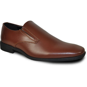 Florence - Brown Matte Formal Loafers-The Shoe Square
