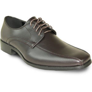 Parma - Brown Matte Formal Dress Shoes-The Shoe Square