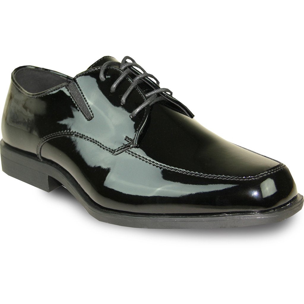 Prague - Black Patent Formal Dress Shoes-The Shoe Square