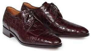 Brunelleschi Crocodile Shoe in Sport Rust  -  Style #4598