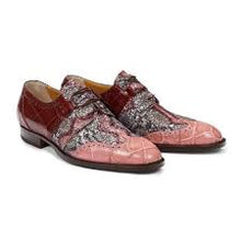 Load image into Gallery viewer, Caracalla Body Alligator Shoe in Cherry / Purple -  Style #53124