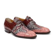 Caracalla Body Alligator Shoe in Cherry / Purple -  Style #53124