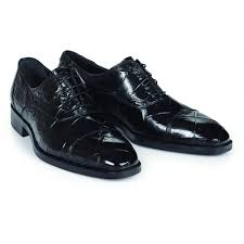 Correggio Body Alligator Shoe in Black  -  Style #4818