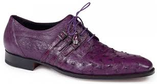 Donatello Ostrich Leg in Violine Shoe -  Style #4820