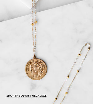 Vintage Inspired Jewelry: The Devani Necklace