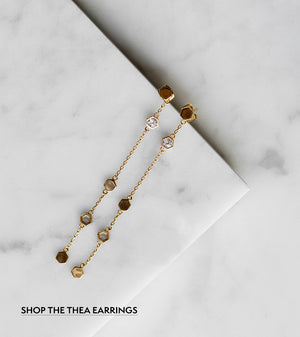Gemstone Love: Shop the Thea Earrings