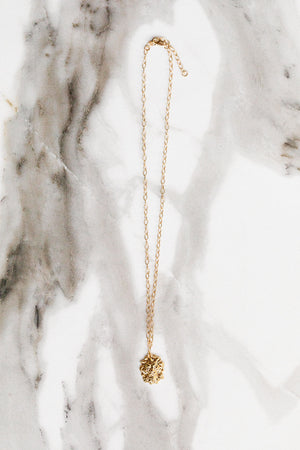 Find the perfect necklace you're looking for from Charme Silkiner! This beautiful 14K Gold Lion Head Pendant Necklace is simply perfection. Great for layering or wearing alone the Chesney Necklace is the perfect piece of unique jewelry that everyone should own.