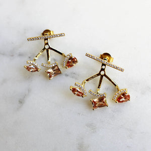 Constellation Ear Jacket Earrings