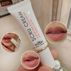 Scru Cream Moisturizing Lip Scrub