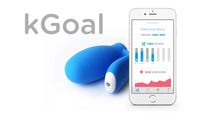 kGoal Kegel exercise trainer with app