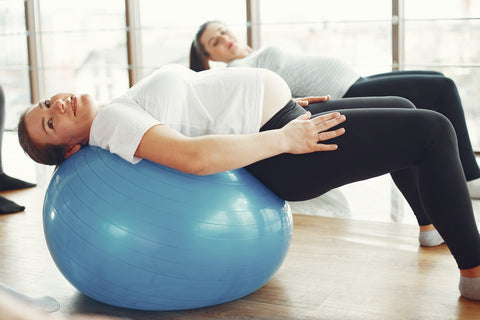 Pelvic floor exercise while pregnant