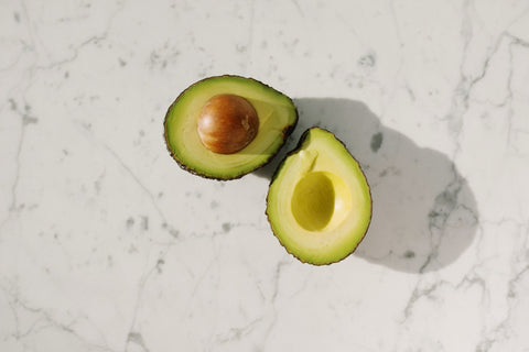 Avocados are high fiber and have lots of Vitamins C, E, K and B-6