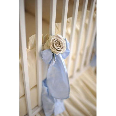 Celine in Blue Baby Bedding Set-Crib Bedding Set-Olena Boyko Baby Bedding