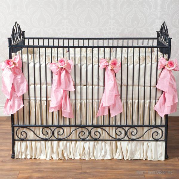 Celine in Pink Baby Bedding Set