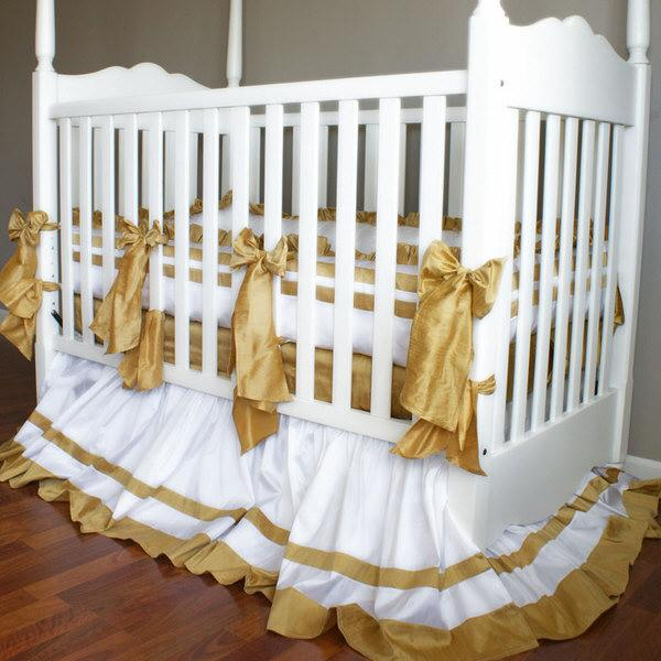 Little Treasure Crib Baby Bedding Set