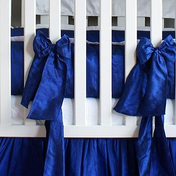 Royal Blue Crib Baby Bedding Set