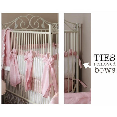 Celine in Pink Baby Bedding Set-Crib Bedding Set-Olena Boyko Baby Bedding