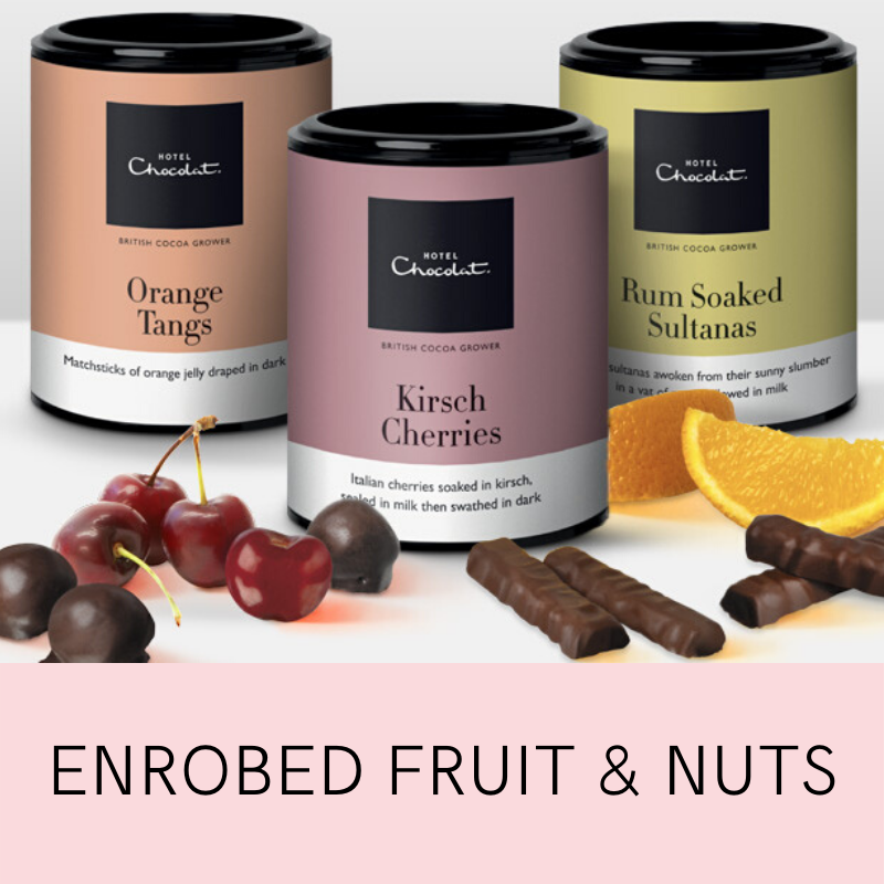 Enrobed Fruit & Nuts